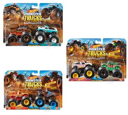 Hot Wheels: Monster Trucks - Demolition Doubles (Assorted Designs)