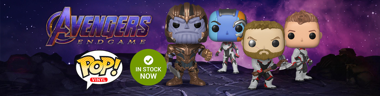 We're in the Endgame now... Avengers In-Stock Now!