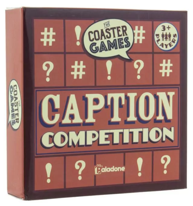 Paladone: Coaster Games - Caption Competition