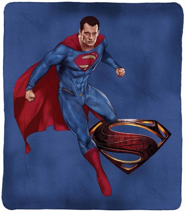 DC Justice League Superman Throw