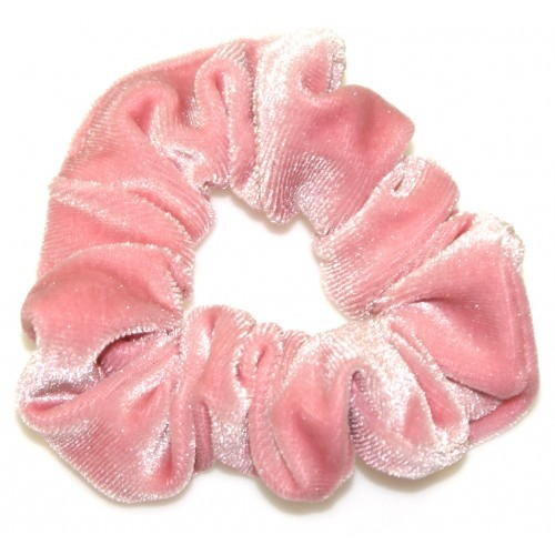 Goody Gumdrops: Velvet Scrunchie - Blush