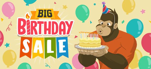 The Big Birthday Sale