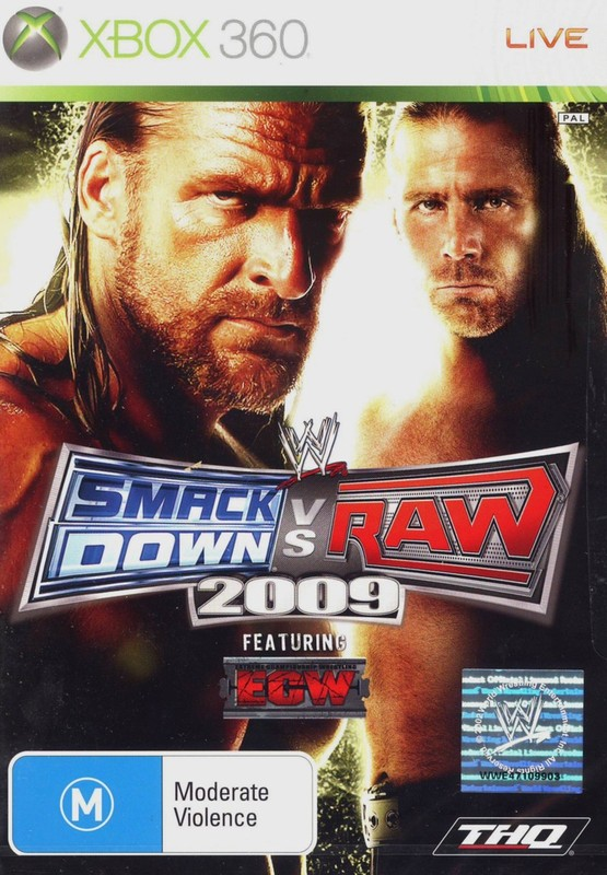 WWE SmackDown! vs. RAW 2009 (Classic) for X360