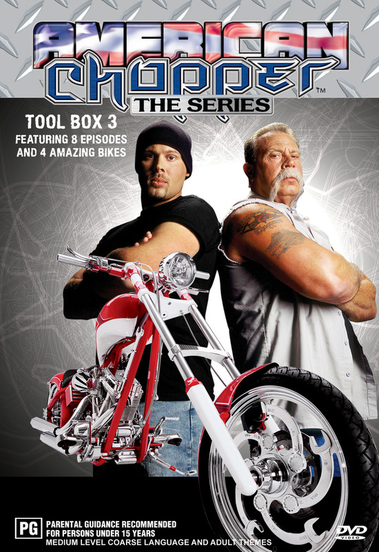 American Chopper: The Series - Tool Box 3 (Discovery Channel) on DVD
