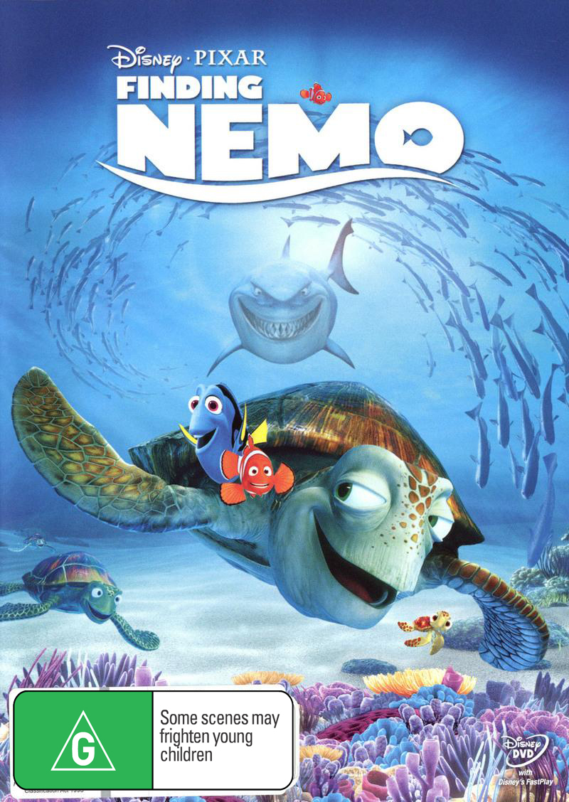 Finding Nemo on DVD image