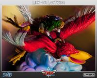 Zelda Link on Loftwing Statue image