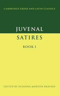 Juvenal: Satires Book I by Juvenal image