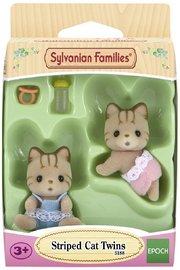 Sylvanian Families: Striped Cat Twins