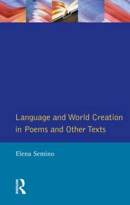 Language and World Creation in Poems and Other Texts by Elena Semino image