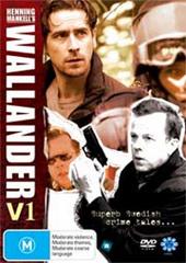 Wallander - Vol. 1 (3 Disc Set) on DVD