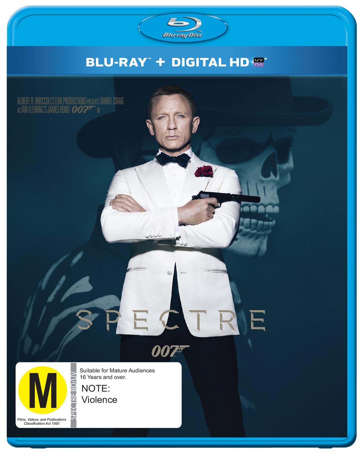 Spectre on Blu-ray image