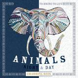 Animals: Night and Day Colouring Book by Beverley Lawson