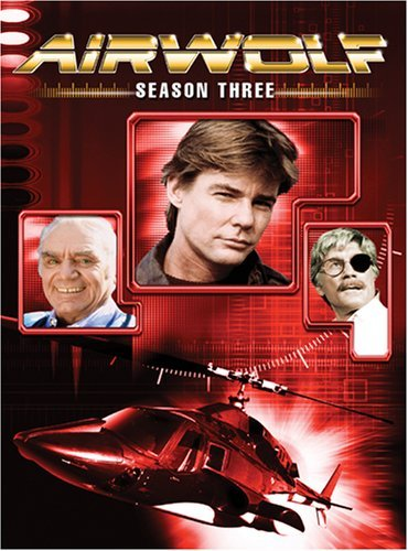 Airwolf - Season 3 (6 Disc Set) on DVD image