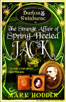 Burton and Swinburne in the Strange Affair of Spring Heeled Jack by Mark Hodder image