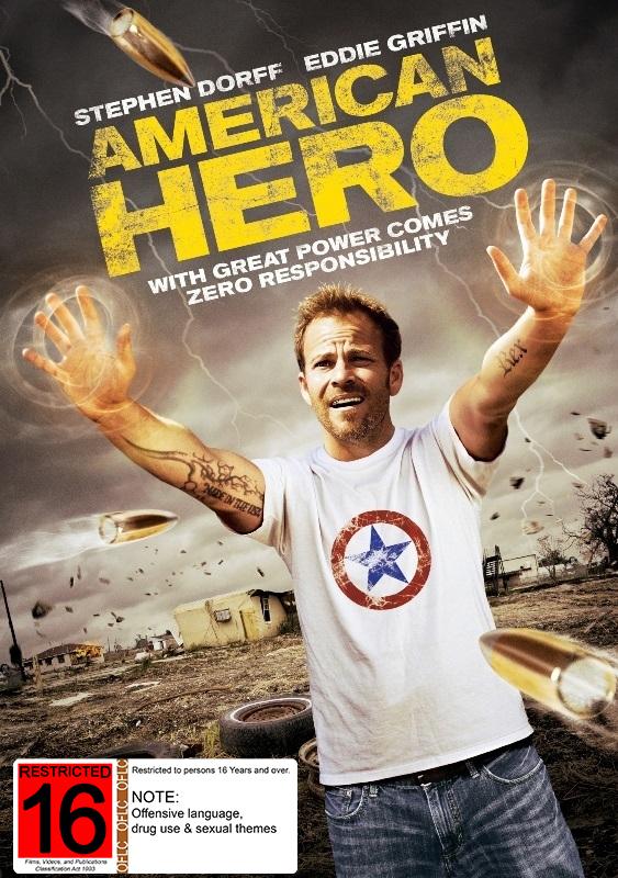 American Hero on DVD