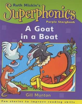Purple Storybook: A Goat in a Boat by Gill Munton