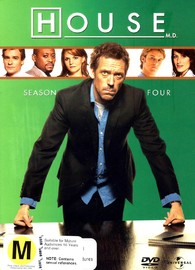 House, M.D. - Season 4 (4 Disc Set) on DVD