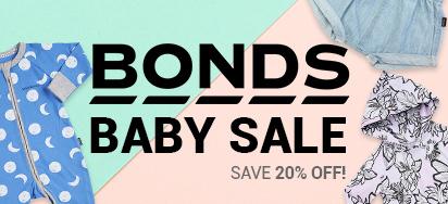 20% off All Bonds Baby