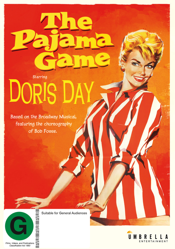 The Pajama Game on DVD