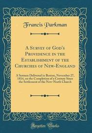 A Survey of God's Providence in the Establishment of the Churches of New-England by Francis Parkman image