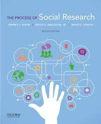 The Process of Social Research by Jeffrey C. Dixon image