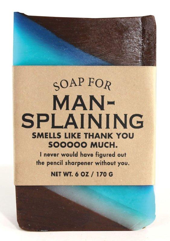 Whiskey River Co: Soap - Mansplaining
