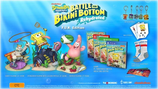SpongeBob Squarepants: Battle for Bikini Bottom Rehydrated F.U.N. Edition for Switch
