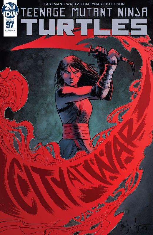 Teenage Mutant Ninja Turtles - #97 (Cover A) by Tom Waltz