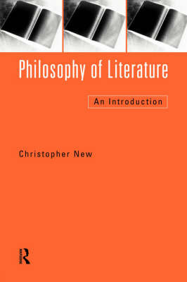Philosophy of Literature by Christopher New image