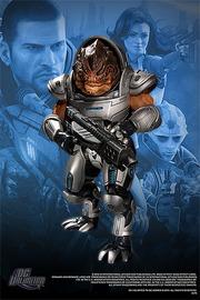 """Mass Effect 3 7"""" Action Figure - Grunt (series 1)"""
