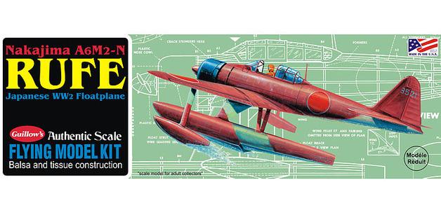 Nakijima Rufe 1/30 Balsa Model Kit