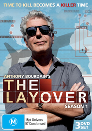 Anthony Bourdain: The Layover - Season 1 (3 Disc Set) on DVD