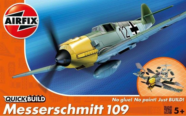 Airfix Quickbuild Messerschmitt 109 Model Kit