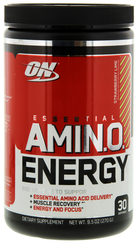 Optimum Nutrition Amino Energy Drink - Strawberry Lime (30 Serves)