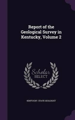 Report of the Geological Survey in Kentucky, Volume 2