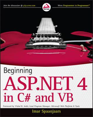 Beginning ASP.NET 4 by Imar Spaanjaars image