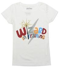 Harry Potter: Wizard in Training Girls T-Shirt (Medium)