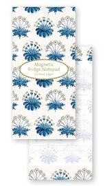 Museum & Galleries: V&A Magnetic Fridge Notepad - Daisy Tile