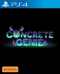 Concrete Genie for PS4
