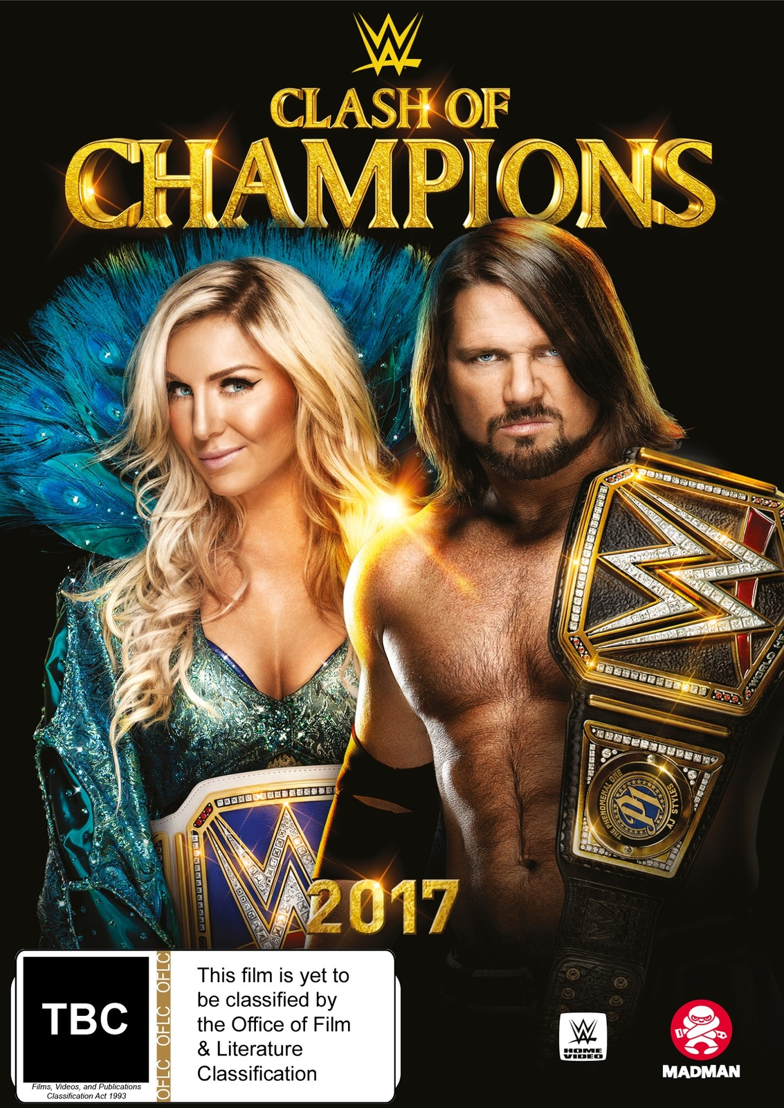 WWE: Clash Of Champions 2017 on DVD image
