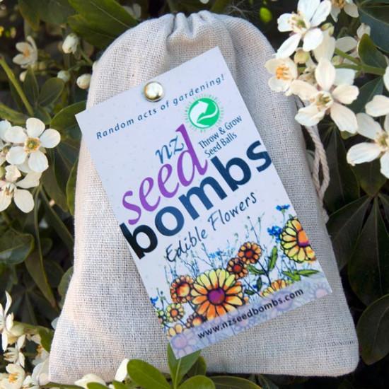 NZ Seed Bombs - Edible Flowers