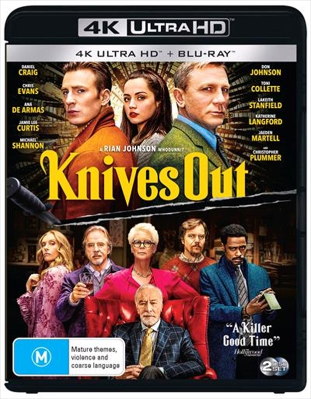 Knives Out (4K UHD + Blu-ray) on UHD Blu-ray