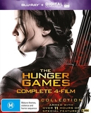 The Hunger Games Collection - Four Movie Box Set on Blu-ray
