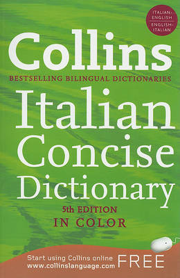 Collins Italian Concise Dictionary image