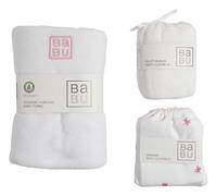 Babu: Muslin Towel Gift Box - Pink Star