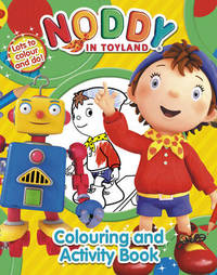 Noddy Colouring and Activity Book by Enid Blyton image