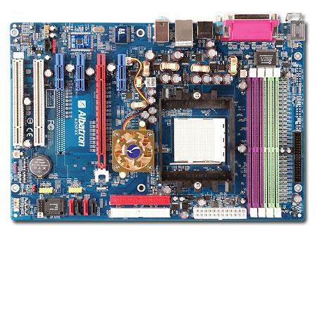 ALBATRON K8NF4X NFORCE4 ULTRA A64 SATA RAID+LAN - S939 image