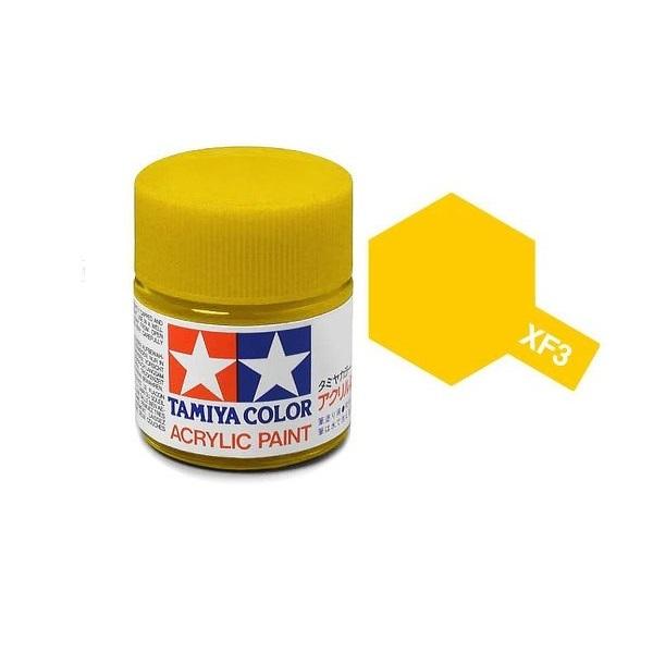 Tamiya Acrylic: Flat Yellow (XF3)