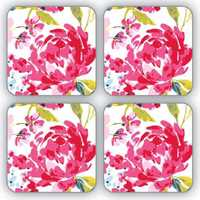 Cooksmart Table Coasters - Floral Romance image