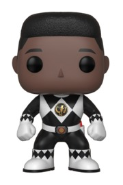 Power Rangers - Black Ranger (Unmasked) Pop! Vinyl Figure